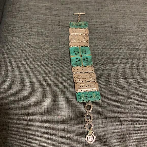 Silpada artifact bracelet 925 sterling silver